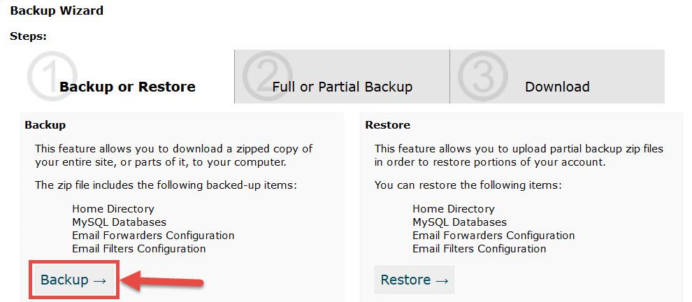 Como Fazer o Backup do WordPress Manualmente