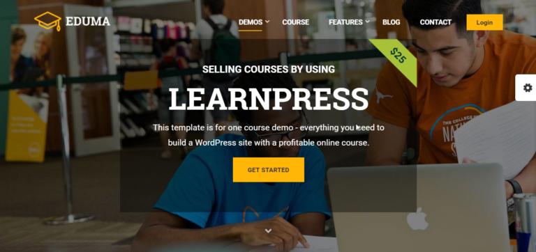 Eduma e LearnPress