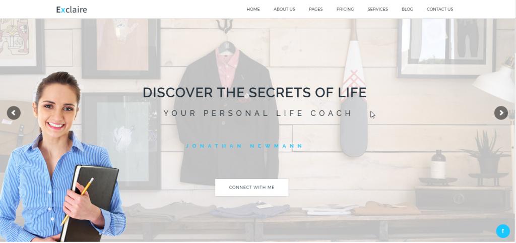 Temas de WordPress Para Coaches